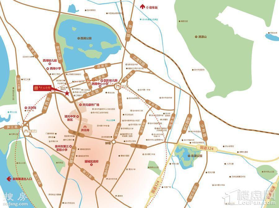 开元公馆位置图
