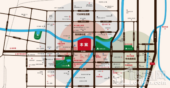 禹州嘉誉公元位置图