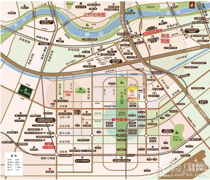 保利紫荆公馆位置图