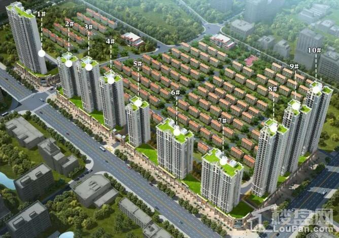 北海中港城二期长沙湾鸟瞰图