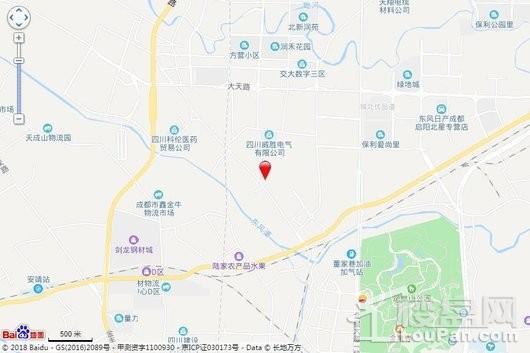 融侨悦蓉城(公寓)交通图