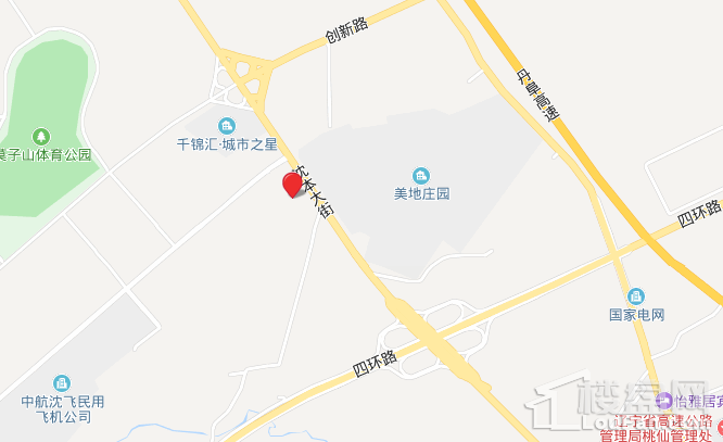 碧桂园公园印象位置图