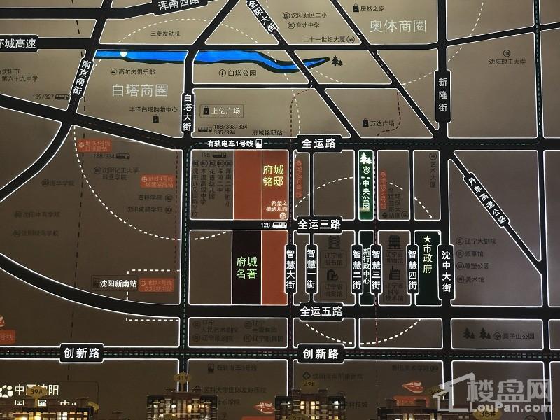 府城名著位置图