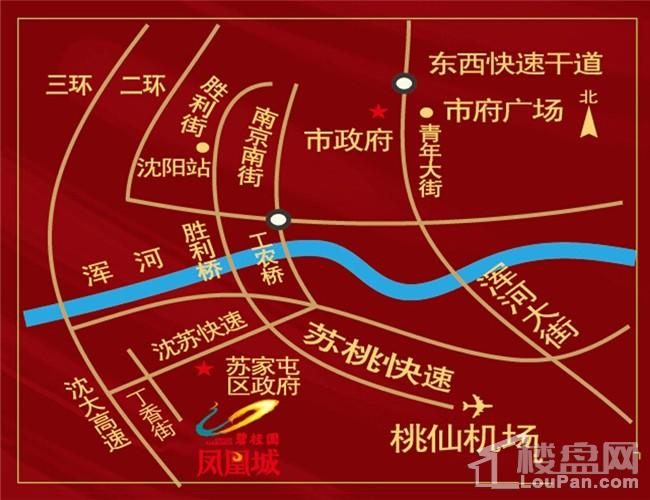 碧桂园九英里位置图
