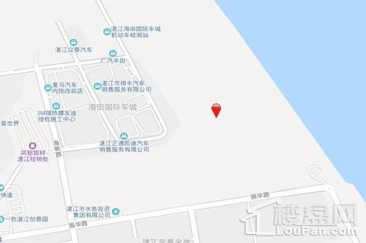 奥园·滨海尚居交通图