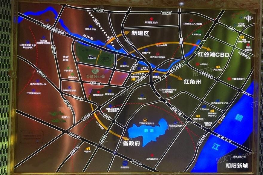金龙湾小镇位置图