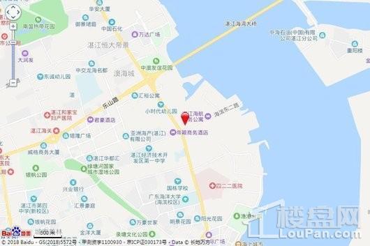 广弘·天誉澜湾交通图