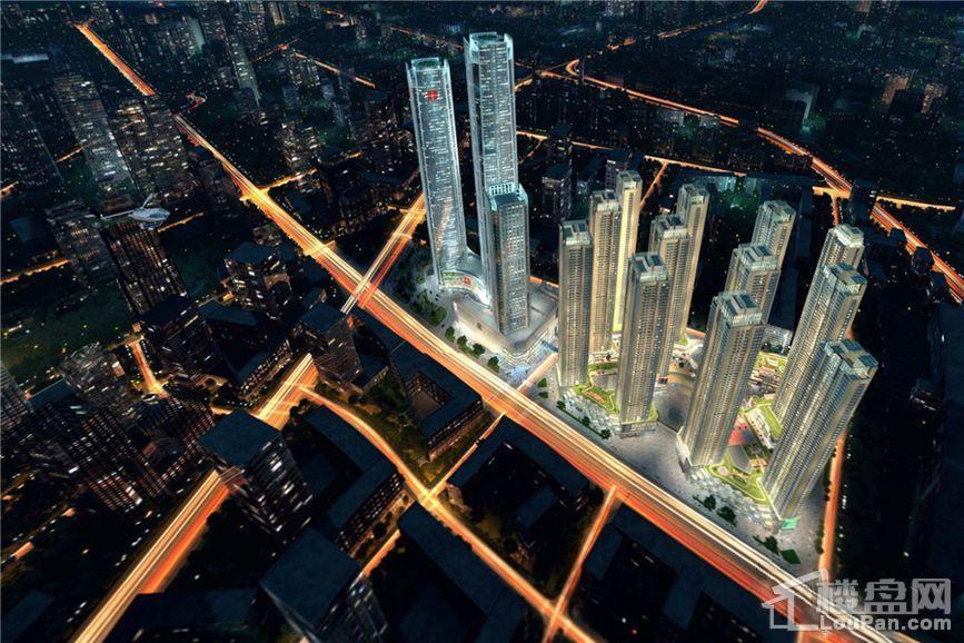 恒大世界城效果图