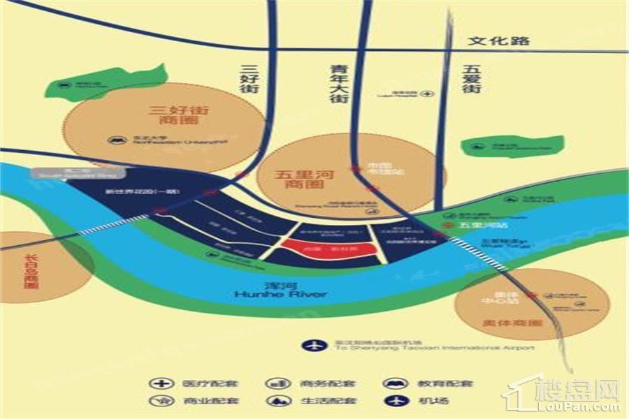 尚景新世界位置图