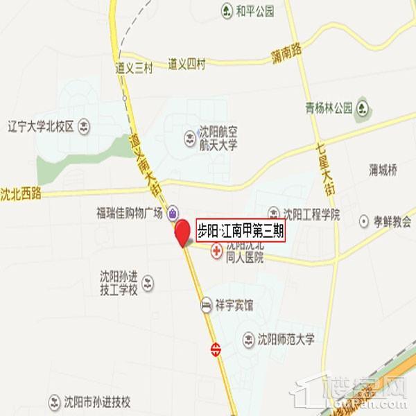 步阳江南甲第位置图
