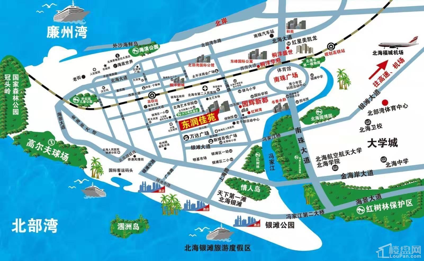 东润佳苑位置图