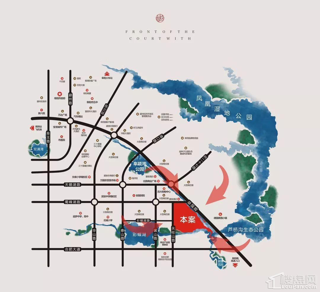 罍街·堂前樾位置图