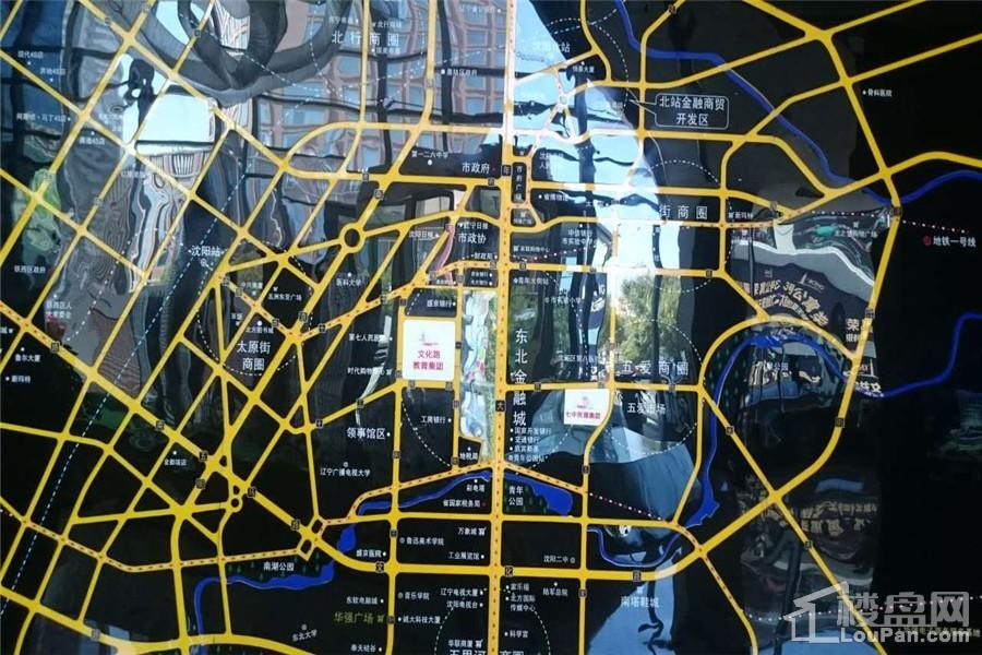 华强商业金融中心位置图