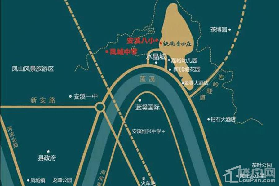 安溪铁观音山庄位置图