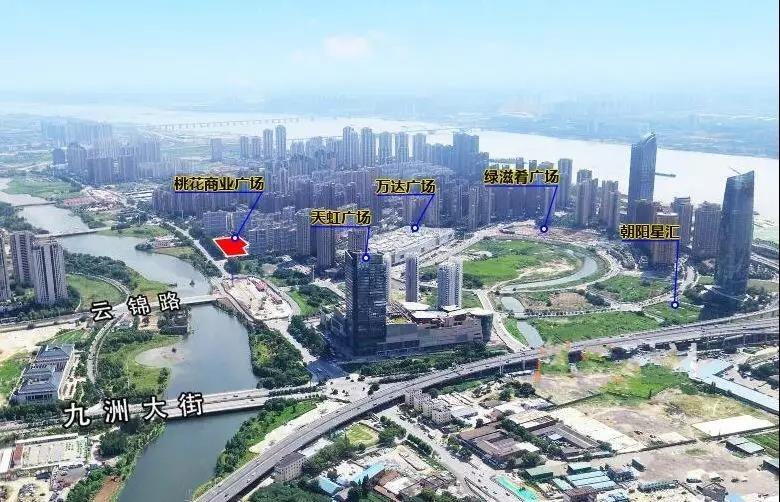 桃花商业广场实景图