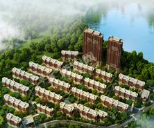 三隆熙湖枫景效果图