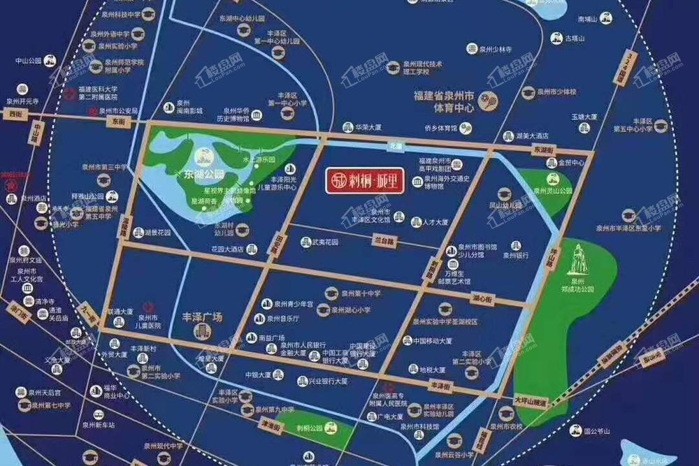 刺桐城里位置图