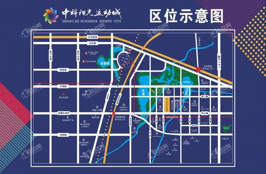 中科阳光小镇位置图