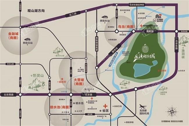 乐湾国际城位置图