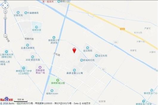 上海东亚威尼斯公馆世家交通图