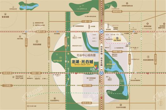 龙湖·光谷城|御景交通图
