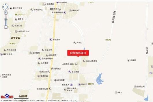 金科博翠山交通图