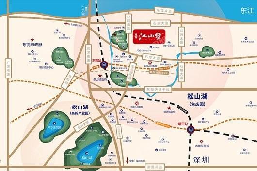 旭辉江山墅位置图