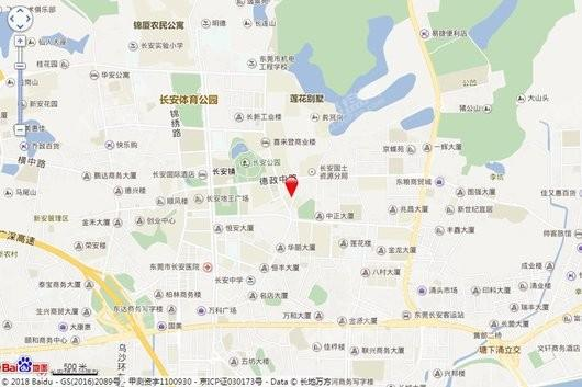 莲花四季大厦交通图
