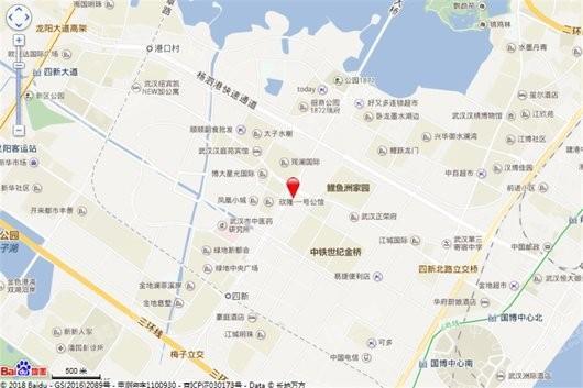 四新中央生活区交通图