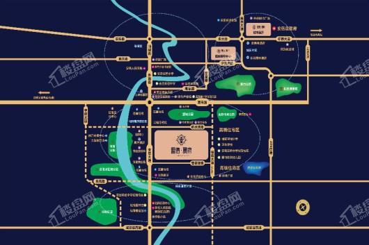 置信·丽府交通图
