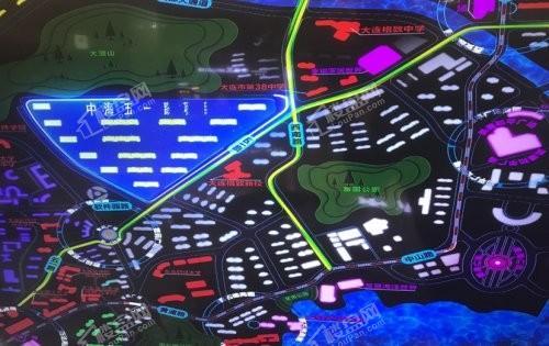 中海云麓公馆位置图