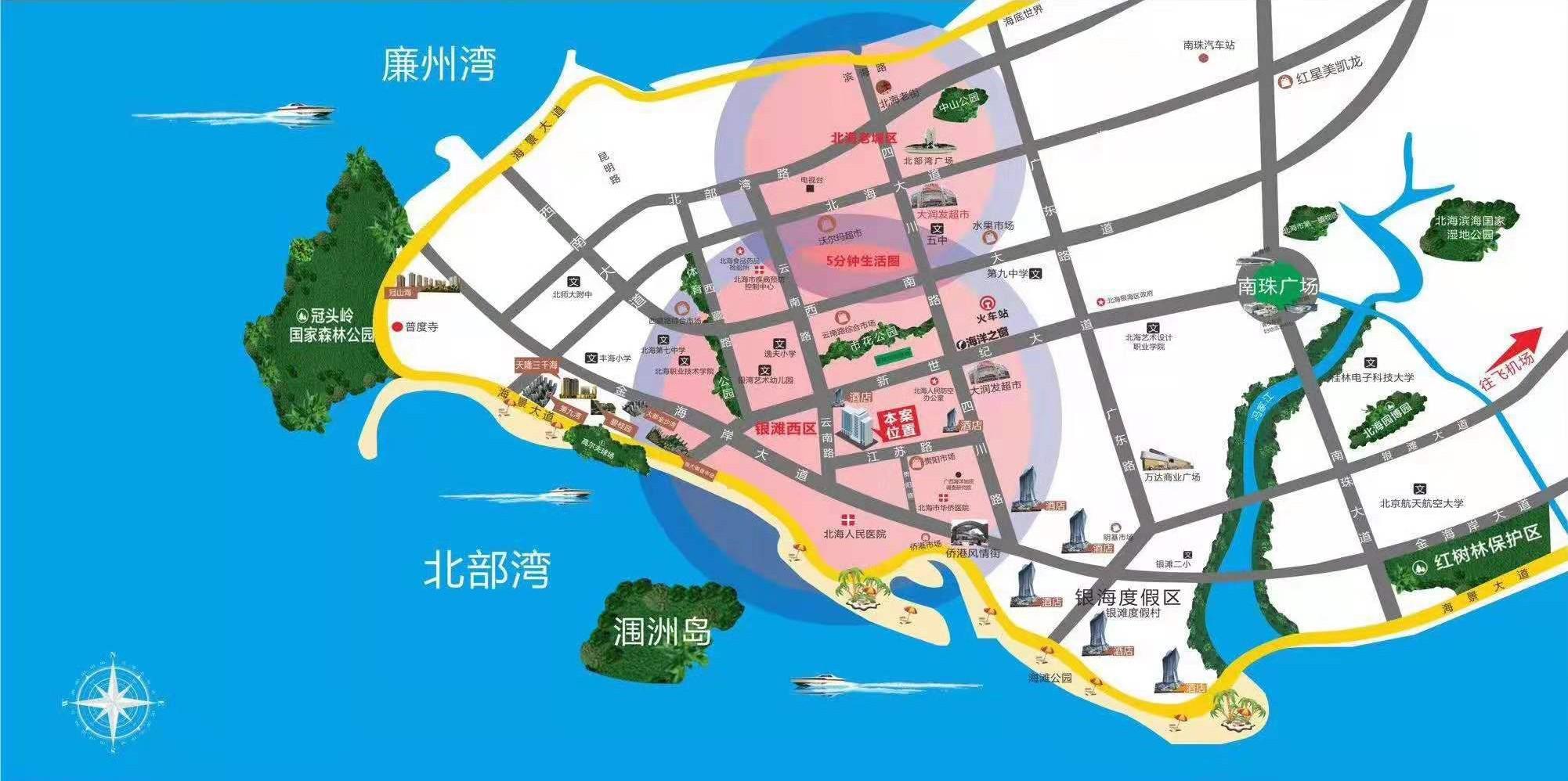 东峰华府位置图