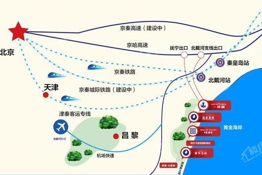 荣盛健康谷位置图