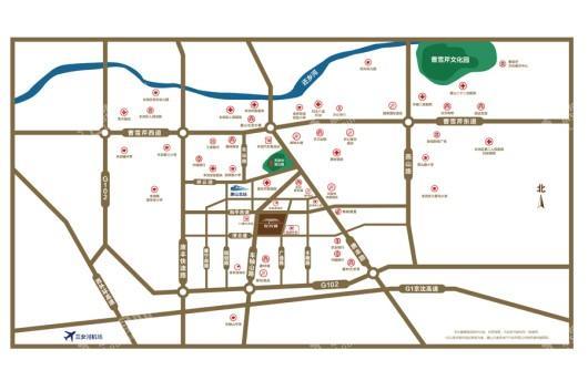 丰润缇香郡位置图