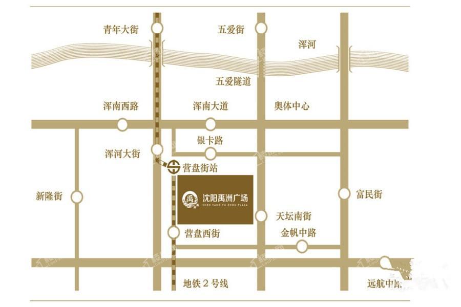 禹洲广场位置图
