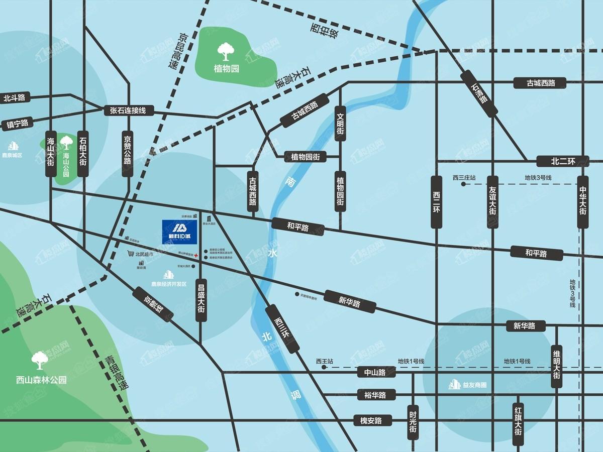新科ID城位置图