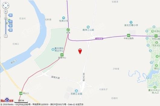 国悦山交通图