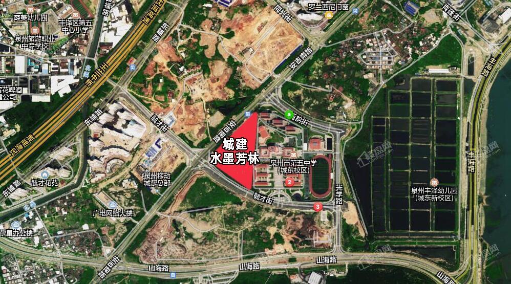 城建水墨芳林位置图