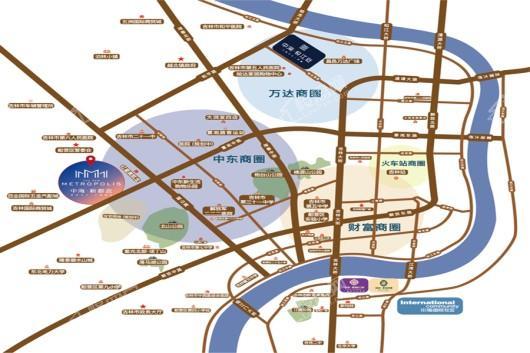 中海新都会交通图