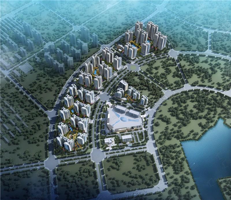 彰泰江与城效果图