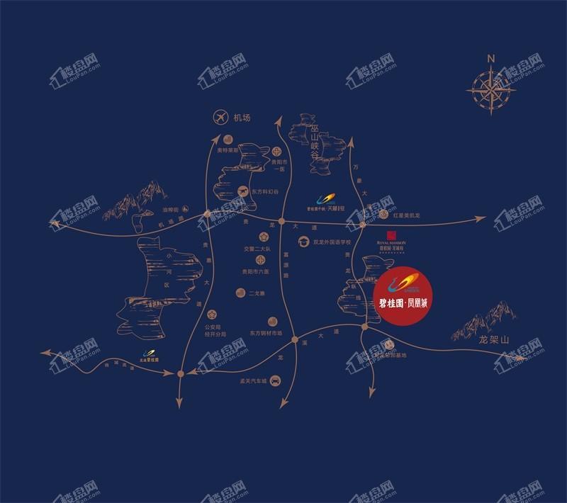 碧桂园·凤凰城位置图