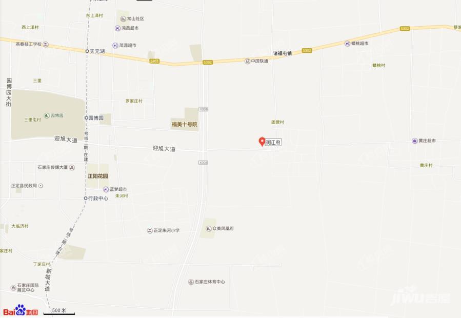 润江府位置图
