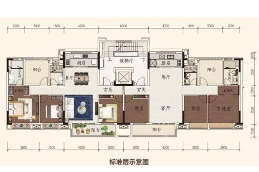 旭辉江山户型图