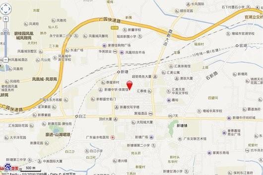 亚太银座商铺交通图