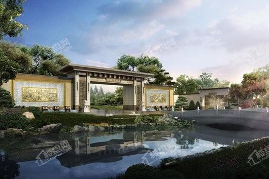 泰禾广州院子大门入口