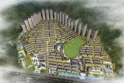 泰禾广州院子鸟瞰