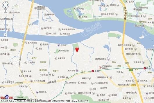 珠江铂世湾交通图