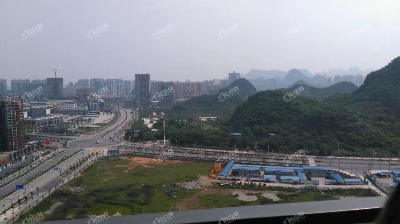 佳城地王国际实景图