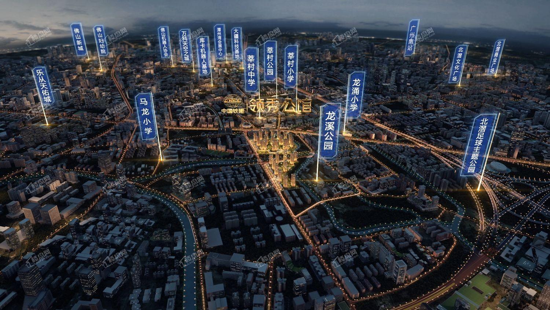 中国铁建领秀公馆位置图