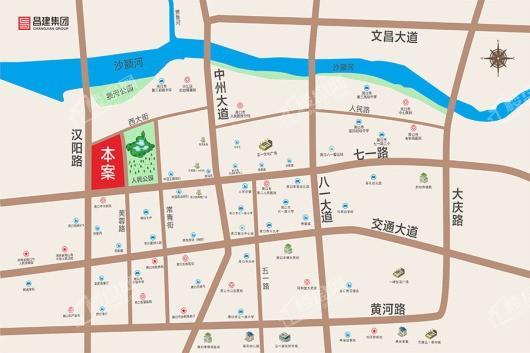 昌建永宁府交通图